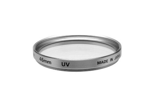 Fujiyama 46mm UV + PL Filters for Panasonic Lumix DMC-FZ18 FZ28 FZ35 FZ38 Silver