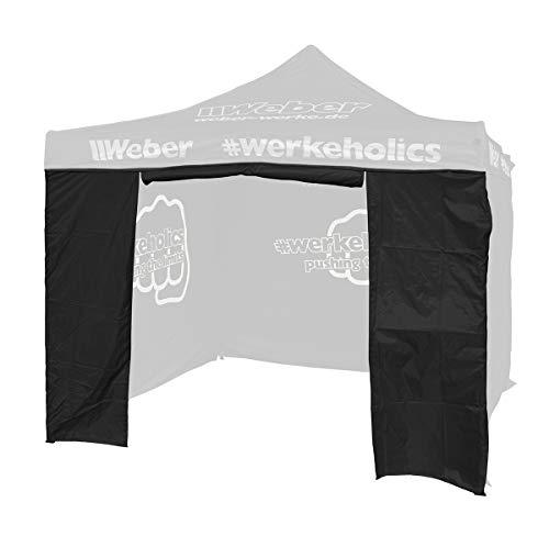 Weber GmbH Seitenwand mit Türöffnung für Easy-Up Zelt 3 x 3 m