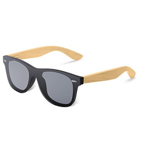 Sonnenbrille Sunglasses Vintage Bambus Holzrahmen Männer Frauen Sonnenbrillen Mode Spiegelbeschichtung Sonnenbrillen Shades Eyewear C3