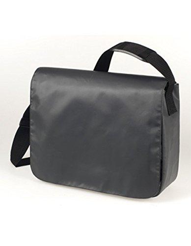 HALFAR® HF6052 Schulter Tasche Style aus LKW Plane Planentasche Umhängetasche , Farbe:Anthrazit