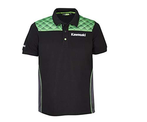 Kawasaki Sports Poloshirt schwarz Größe XL
