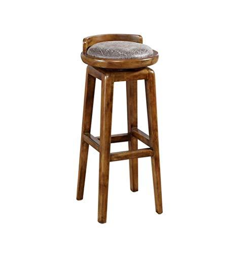 ZfgG barkruk, Amerikaanse stijl, barstoelen, massief hout, retro, kruk, keuken, ontbijt, stoel voor familie en kantoor