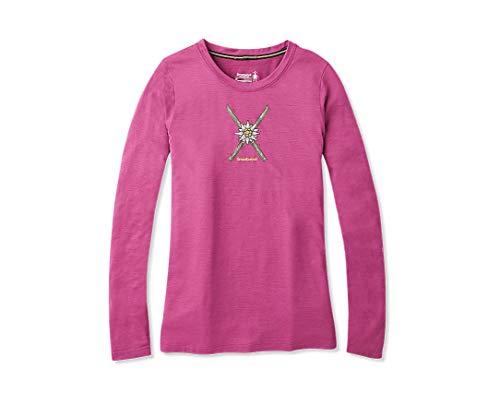 Smartwool vrouwen Merino Sport 150 poeder bloem lange mouwen T-shirt