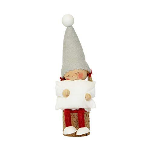 NORDIKA nisse ノルディカ ニッセ クリスマス 木製人形 (お座りねんね女の子(枕) / NRD120605)