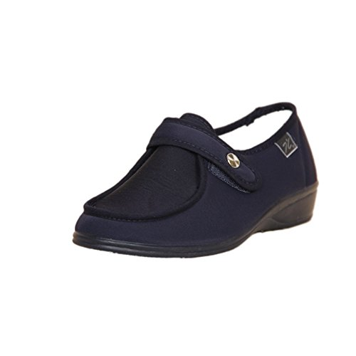DOCTOR CUTILLAS 746 Zapatilla Velcro Confort Mujer Azul 37