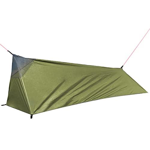 Tienda de campaña tipo túnel, para camping, saco de dormir, ultraligera, portátil, resistente al agua, tamaño pequeño, para senderismo, camping, exterior