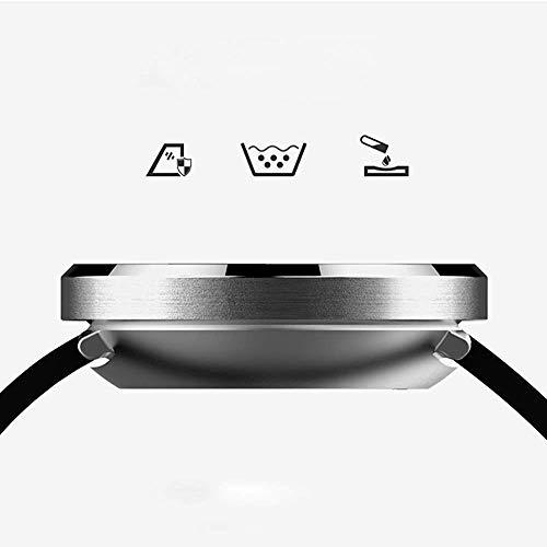 Armbanduhr Smartwatch Mechanische Uhren Saphiruhr Quarzuhr mit Farbdisplay Sportarmband Männer Smartwatch Frauen Wasserdicht Schrittzähler Test Herzfrequenz Blutdruck Multifunktions Android Apple Uni