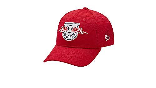 RB Leipzig New Era 39THIRTY Red Knit Cap, Unisex One Size - Original Merchandise