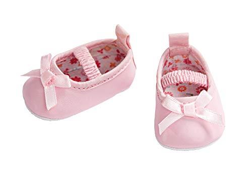 Heless 647 - Ballerinas für Puppen, rosa, Größe 38 - 45 cm