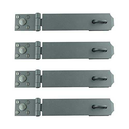 Black Wrought Iron Hasp Lock 13
