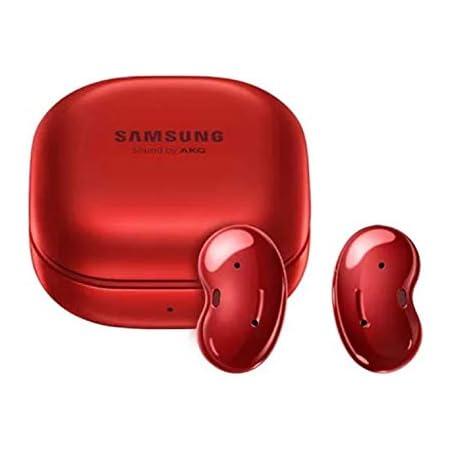 Galaxy Buds Live (SM-R180N) ANC トゥルーワイヤレスイヤホン ギャラクシーバッズライブ (Mystic Red/ミスティックレッド) [並行輸入品]