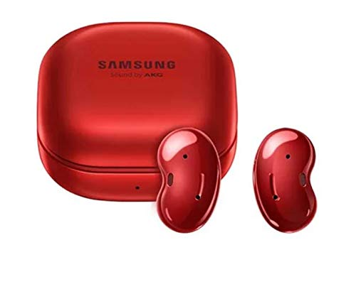 Galaxy Buds Live Mystic Red | True Wireless Earbuds w/Active Noise Cancelling | Wireless Charging Case Included | Korean Version