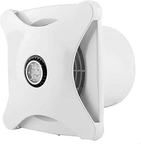 Abzugshaube Mit Beleuchtung, Badezimmer Auspuff, Lüftungsventilator, Startseite Leistungsstarke Mute Küchenabzugshaube, 6 Inch ZHAOSHUNLI 200323