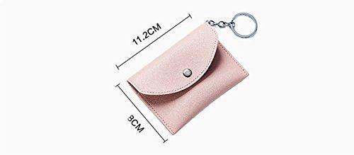 Nabati Porte-clés Porte-clés pour filles avec sac à main sac Pochette en cuir PU d'une