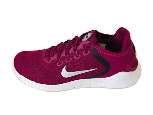 Nike Women's Free RN 2018 Running Shoes Berry White Size 7