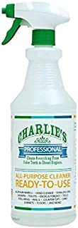 Charlie's Professional Ready-to-Use Biodegradable All Purpose Cleaner, 32oz Spray Bottle