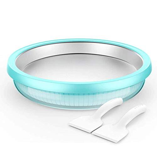 1yess Machine yogourt, la crème glacée instantanée Maker yogourt glacé Sorbet Gelato Maker Pan Ice Ice Pan Rouleau Temps