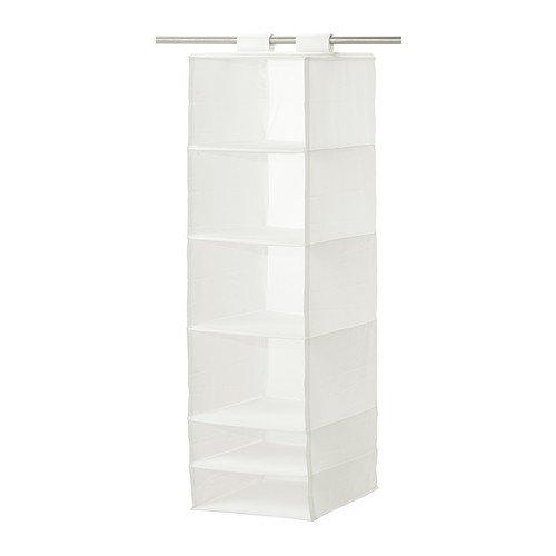 Ikea SKUBB-förvaring med 6 fack vit