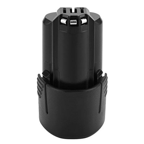 Tecmana Batería de Iones de Litio de 10,8V/12V 3000mAh para Bosch GSR GDR GOP GWI GSA GSB GLI 10,8 BAT411 BAT412 BAT413 BAT414
