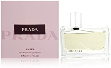 Prada Amber for Women Eau De Parfum Spray, 2.7 Oz