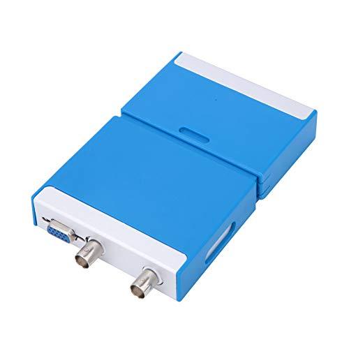 Cosiki Osciloscopio de Doble Canal, Soporte para osciloscopio de decodificación de protocolo Serie múltiple, osciloscopio Virtual para teléfonos Android Integrados en Equipos de enseñanza