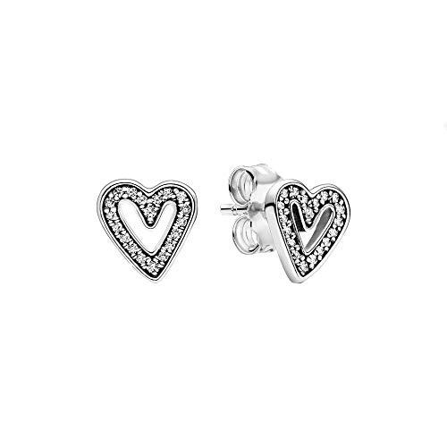 Pandora Sterling silver 925 Cubic Zirconia Stud Earrings - 298685C01