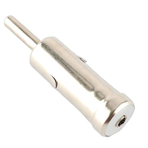 Adaptador de antena de coche TIP Genérico Auto Antena Convertidor Dasiones DVD Cabeza de DVD Adaptador de radio ISO A DIN ANTENNA Accesorio de antena Hardware