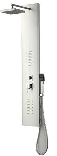 DP Grifería HID-0003 Columna de hidromasaje modelo Granada, Plateado