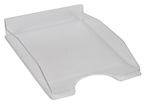 Q-Connect - Bandeja Sobremesa Plastico Transparente