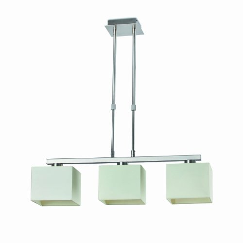 FARO BARCELONA 68533 Thana Lampe Suspension télescopique Blanc