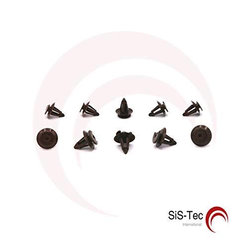 Kim Kranholdt 893867290 - Clip di fissaggio per rivestimento porta, 10 pezzi