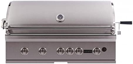 Coyote CSL42LP S-Series Outdoor Grill with LED Knobs, 42-Inch