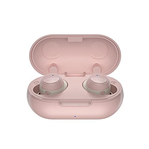 Auriculares inalámbricos T22 con Bluetooth, auriculares intrauditivos TWS, estéreo, impermeables, en la oreja, auriculares CVC, reducción de ruido para deporte