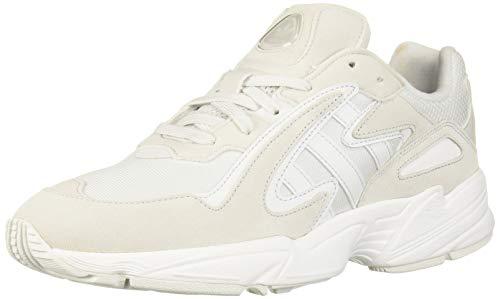 adidas Originals Men's YUNG-96 Chasm Running Shoe, Crystal White/Crystal White/White, 10 M US