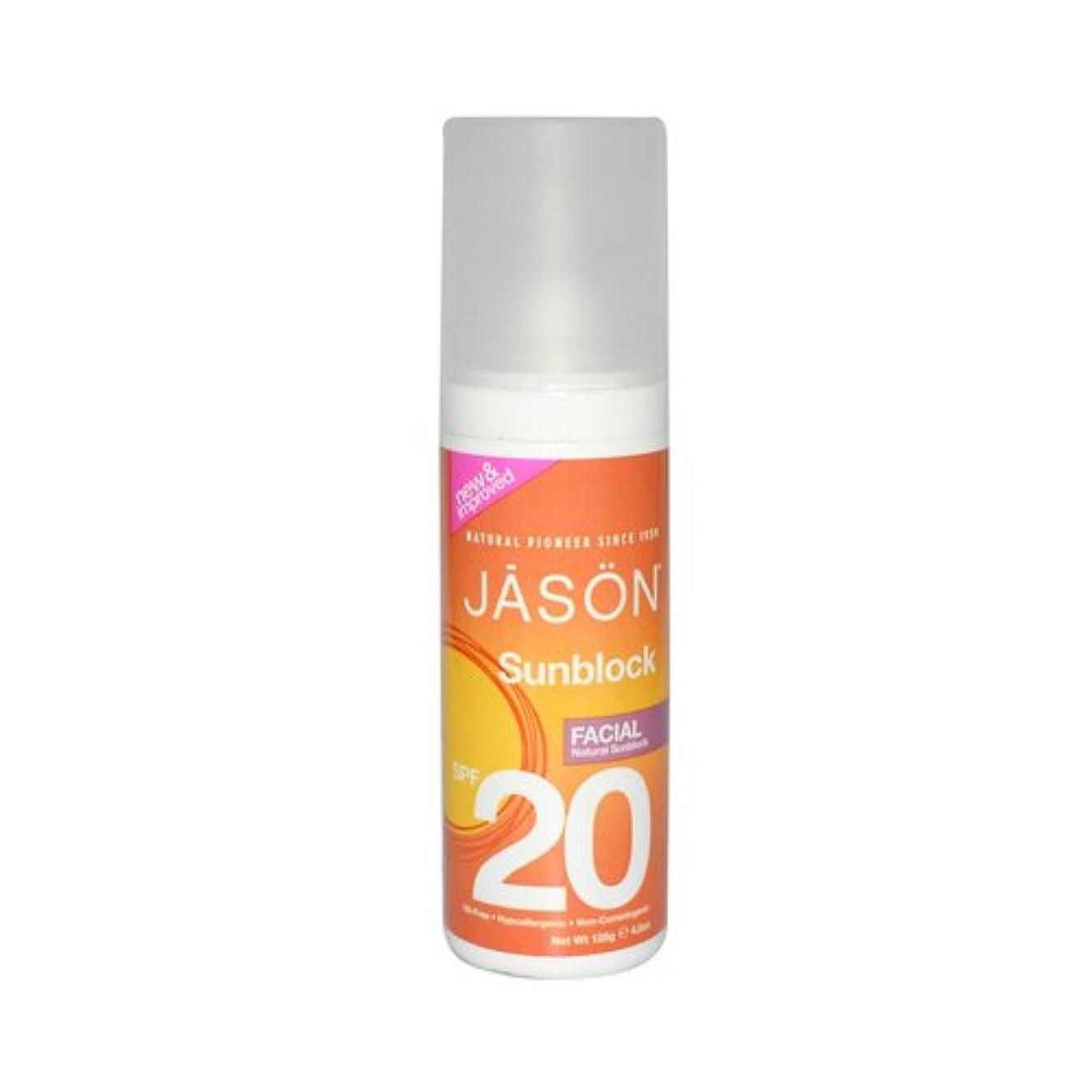 お勧め衝突コース床を掃除するTHREE PACKS of Jason Bodycare SPF 20 Facial Block 128g [Misc.] / THREE????????????????SPF 20??????128???[ Misc. ]