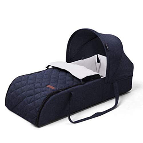 JN Baby Schlafkorb, Personalität Baby Schutzbezug Weiche Tasche Wiege Persönlichkeit Baby Schutzbezug Einfarbig Schlafkorb Baby Sicherheit Zaun