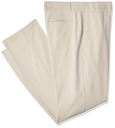 Callaway Herren-Golfhose, Stretch, robust, Herren, Solid Stretch Golf Pants, Silberfarbenes Futter, 54W x 30L