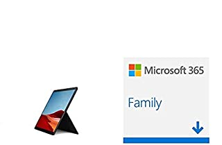 Microsoft Surface Pro X, 13 Zoll 2-in-1 Tablet (Microsoft SQ2, 16GB RAM, 512GB SSD, W + Microsoft 365 Family | 6 Nutzer | Download (B08PD5DQ2P) | Amazon price tracker / tracking, Amazon price history charts, Amazon price watches, Amazon price drop alerts
