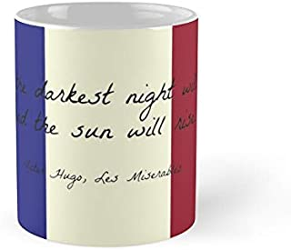 Miserables Quote On French Flag Mug - 11Oz Mug - Made From Ceramic - Best Gift For Family Friends