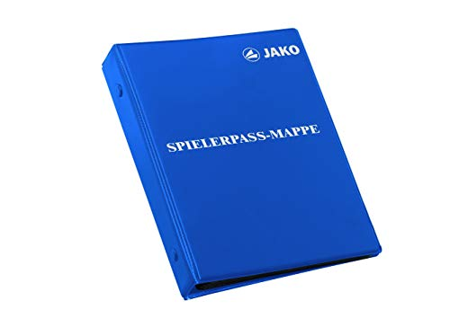 JAKO Spielerpass-Mappe, Blau, One Size