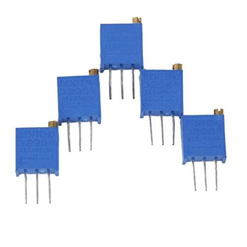 UIOTEC 5PCS 3296W-104 100K Ohm Resistor Trim Pot Potentiometer Trimmer*