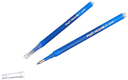 Pilot FriXion Ball, Lot de 4 paquets de 3 recharges (Set de 12), 0,7 recharges pour stylo à bille Bleu