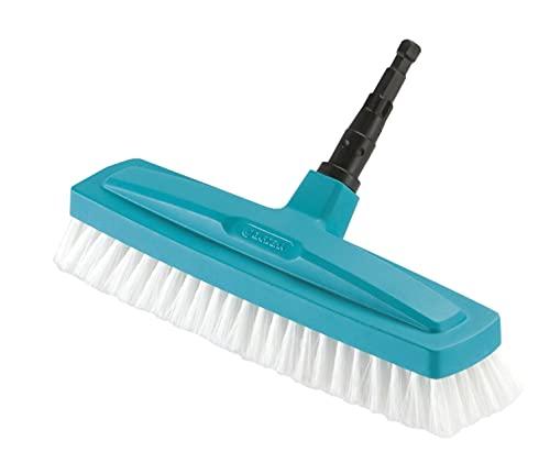 Gardena combisystem-Schrubber: Optimales Werkzeug für die Reinigung im Haus, 30 cm Arbeitsbreite, hochelastische Polypropylen-Besteckung, möbelschonend durch abgerundete Kanten (3639-20)