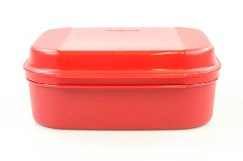 TUPPERWARE Naschkätzchen 1,7 L rot Bellevue Dose Vorrat Apollo Royal