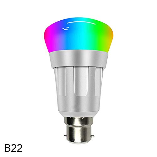 DAYUANDIAN Alexa Smart LED WiFi Bulb,LED RGB Color Changing Multicolored Lights Ultra Long-Distance APP Remote Control Best Home lamp