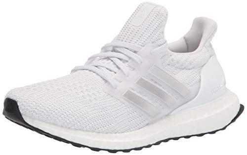 adidas,Womens,Ultraboost DNA,White/Silver Metallic/Black,8