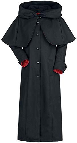 Gothicana by EMP Vritra Frauen Mantel schwarz M 85% Wolle, 15% Polyester Basics, Gothic
