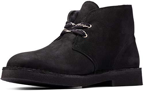 Clarks Desert Boot 2 Black Suede