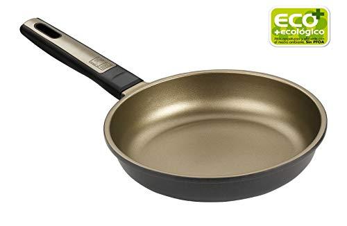 BRA Terra - Sartén 18 cm, aluminio fundido con antiadherente Teflon Selectaptas para todo tipo de cocinas incluida inducción