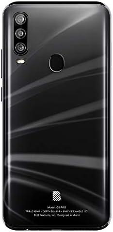 "BLU G9 Pro -6.3"" Full HD Smartphone with Triple Main Camera, 128GB+4GB RAM -Black WeeklyReviewer"
